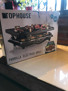 Parrilla Eléctrica Grill Top House