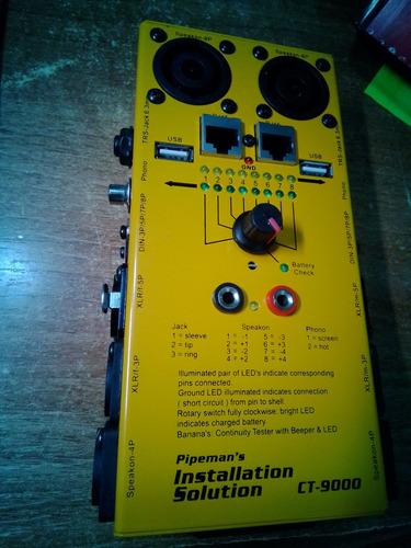 Probador De Cables Ct-9000 Pipemans