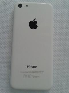 I Phone 5 C Com Apenas Defeito No Slot Do Chip.