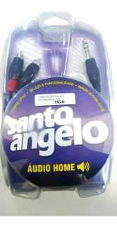 Cabo De Audio 1 P10 2 Rca Ac6 Santo Angelo 1 Metro Ac 6 Nf