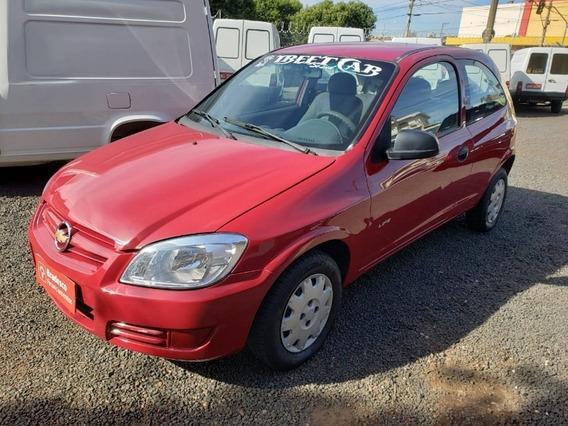 Chevrolet Gm Celta 1.0 Vhc Vermelho 2011