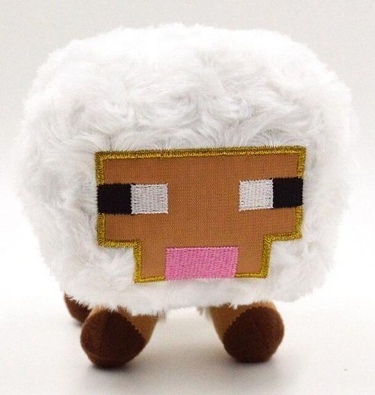 Boneco Jogo Minecraft Ovelha De Pelúcia
