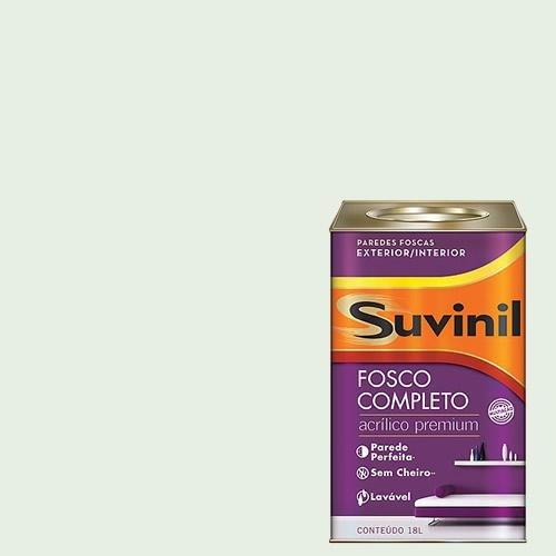 Tinta Acrilica Fosca Premium Suvinil Seda 18lts.