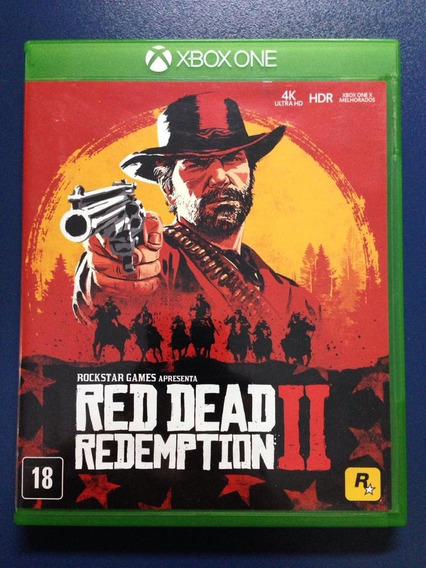 Jogo Red Dead Redemption 2 Xbox One Usado
