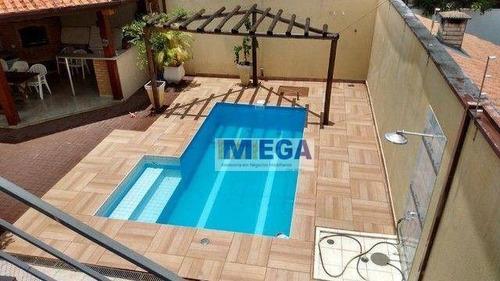 Imagem 1 de 19 de Casa Com 4 Dormitórios À Venda, 321 M² Por R$ 900.000,00 - Lenheiro - Valinhos/sp - Ca2482