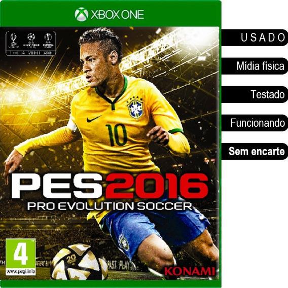 Pes 2016 Xbox One Usado Mídia Física