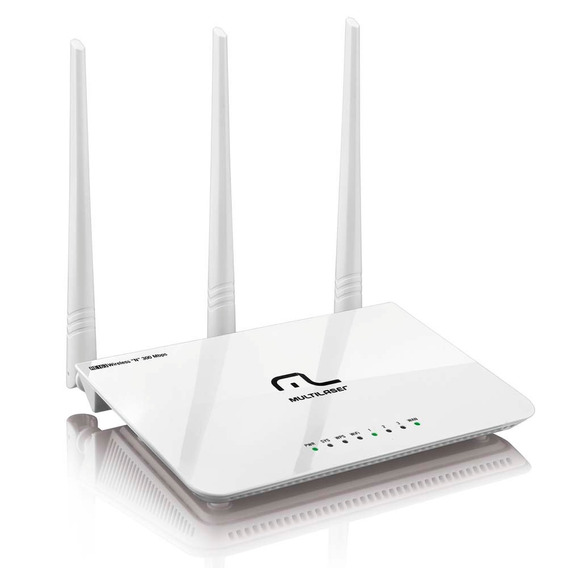 Roteador Wireless Multilaser Re163v 300 Mbps Garantia 3 Anos