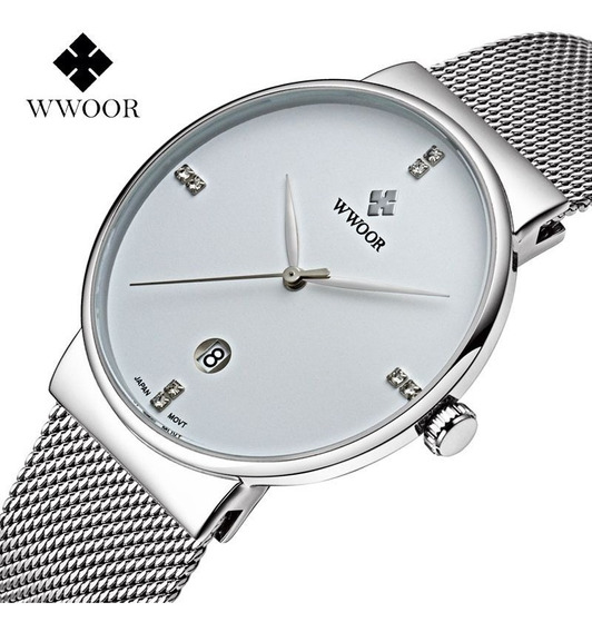 Wwoor Relojes Hombre Moda Casual Calidad Premium Envío Grat