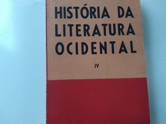 Livro História Da Literatura Ocidental Iv Otto Maria Carpeau