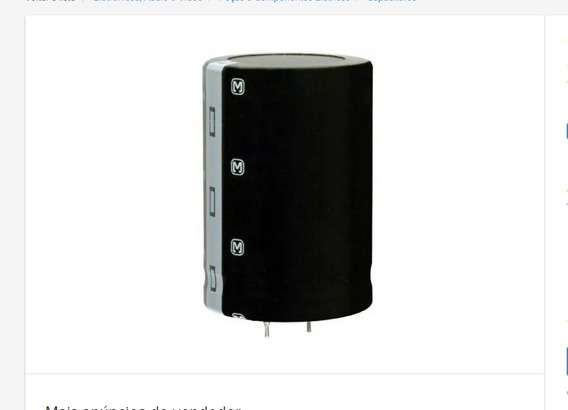 Capacitor Eletrolítico 10.000uf 50v 105ºc - Unidade