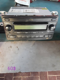 Reproductor Original Toyota Corolla, Yaris, Runner Hilux, Et