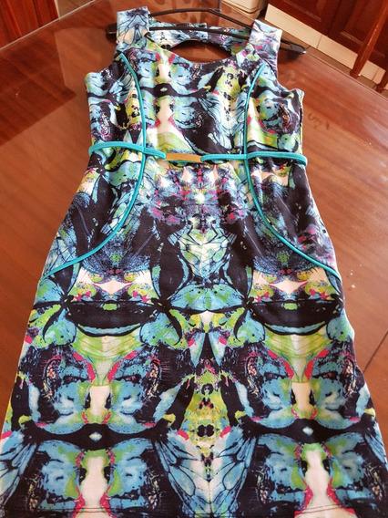 Vestido Importado Estampado Woman T S/m