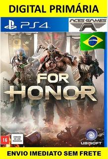For Honor - Ps4 Digital 1 Psn Primária
