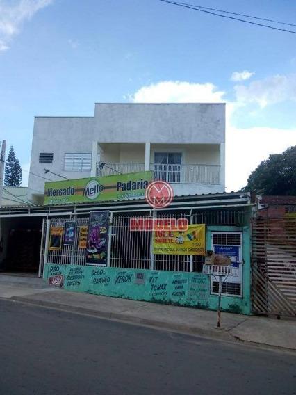 Casa Com 2 Dormitórios Para Alugar, 125 M² Por R$ 1.100/mês - Chácara Recreio Cruzeiro Do Sul - Santa Bárbara D