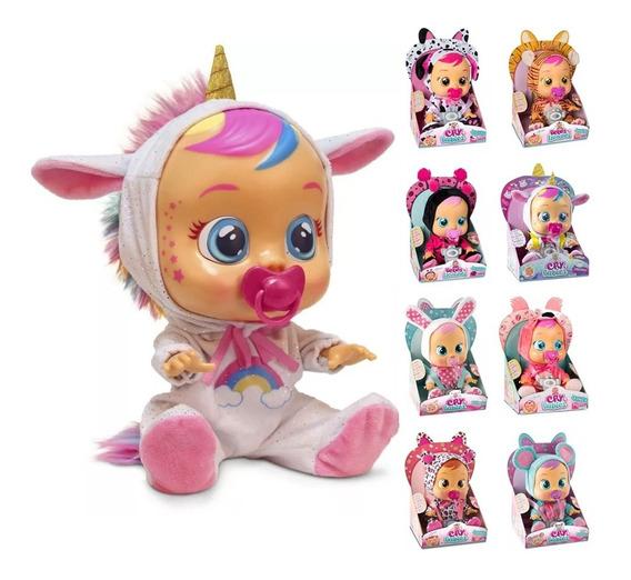 Boneca Cry Babies Varios Modelos Chora Lágrimas Multikids