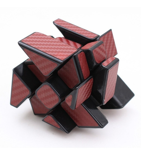 Cubo Mágico Rubik Mofangjiaoshi Carbon Fiber Windmill Cube