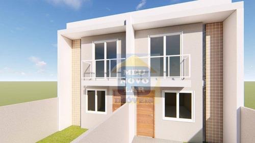 Sobrado Com 2 Dormitórios À Venda, 68 M² Por R$ 220.000,00 - Cidade Industrial - Curitiba/pr - So0343