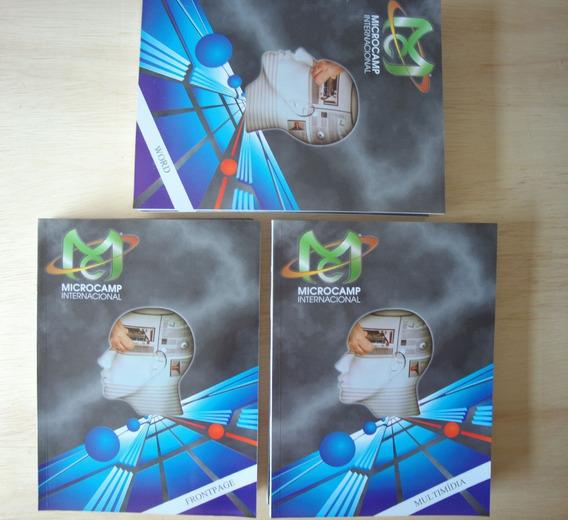 Curso De Informática Antigo Completo Em Livro Da Microcamp.