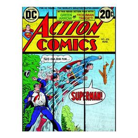 Placa De Madeira Decorativa - Dc Comics - Super-homem Transf