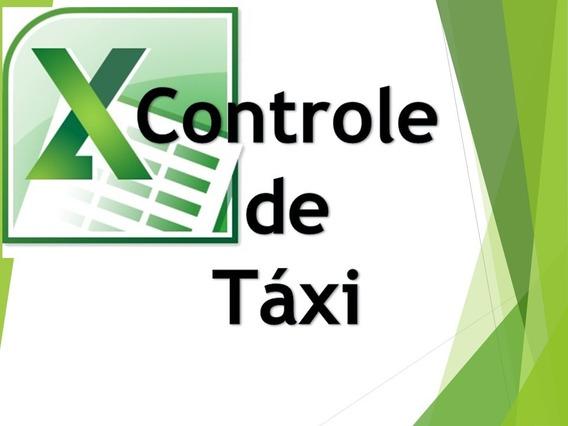 Controle De Taxi - Excel Planilhas Avançadas