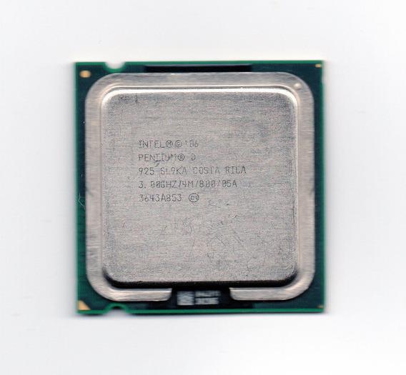 Processador Intel Pentium D 925 3.00ghz Lga 775 Fsb 800