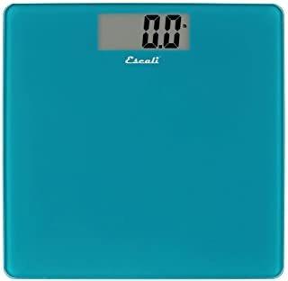 Escali B200pb Glass Platform Bathroom Body Scale, Low Profil