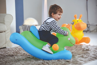 Inflable Mecedor Infantil Animal Bestway 52220 Educando