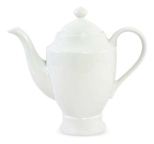 Chaleira De Porcelana 1,6 Litros Para Chá Água Quente Café