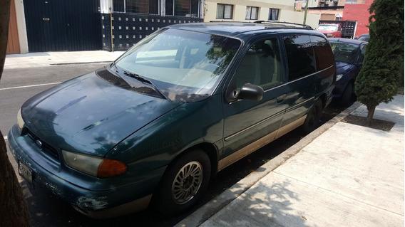 Camioneta Ford Windstar 1998, Versión Larga, De Piel