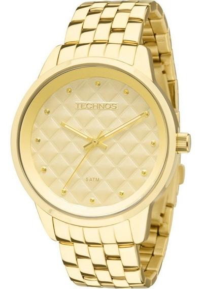 Relógio Feminino Technos Fashion 2035lwm/4x Mais Vendido +nf