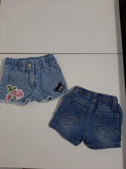 Short Jeans Nena Bebe Niña
