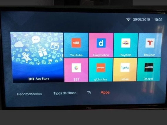 Tv 32 Polegadas, Smart, Led, Full Hd, Com 1 Ano De Garantia.