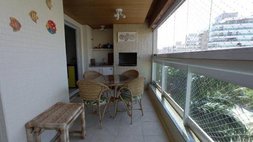 Apartamento Com 3 Dormitórios À Venda, 106 M² - Riviera De São Lourenço - Bertioga/sp - Ap11650