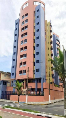 Apartamento Com 2 Dormitórios À Venda, 64 M² Por R$ 295.000 Avenida Gov. Mário Covas Júnior, 2920 - Jardim Marina - Mongaguá/sp - Ap2218