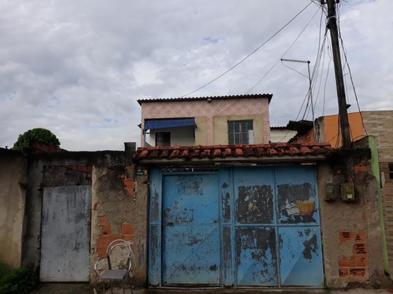 Casa Em Jardim Anhangá, Duque De Caxias/rj De 65m² 2 Quartos À Venda Por R$ 140.000,00 - Ca322644