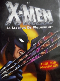 Película Animada X - Men La Leyenda De Wolverine