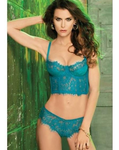 Coordinado Jade, Brasier Bustier Y Bikini, 20274 Vicky Form