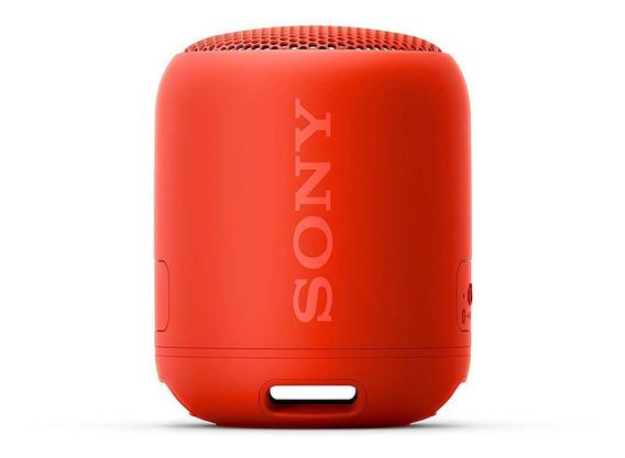 Caixa De Som Sony Srs-xb12 Extra Bass Bluetooth Vermelho