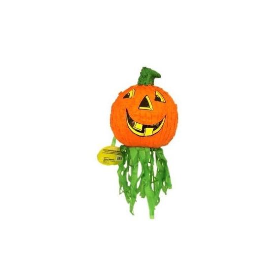 Pinata De Halloween Jack-o-lantern Pumpkin, Juego De Fiesta,