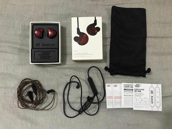 Fone Kz Zs10 + Cabo Bluetooth Aptx