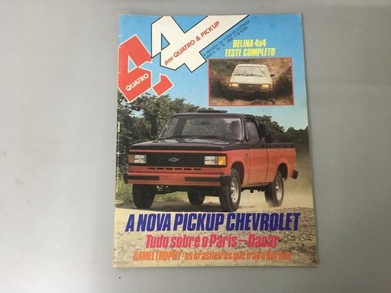 Revista 4x4 & Pick-up N.o 18 - Abril 1985