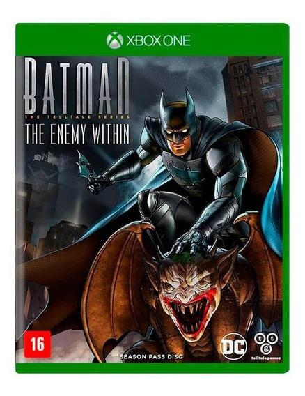 Jogo Batman The Enemy Within Xbox One Mídia Física Original