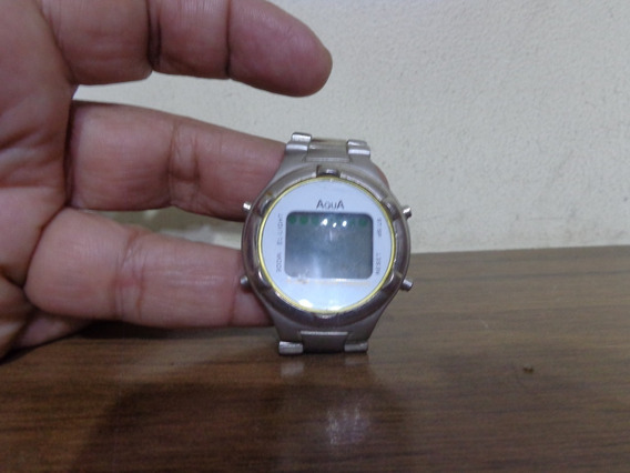 Relógio Digital Áqua Wr 30m Retrô Alarme Cronômetro