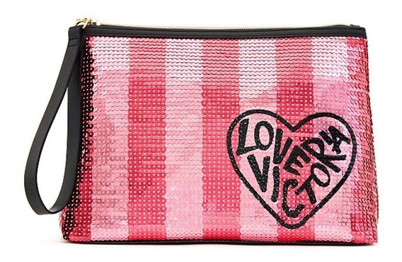 Necessarie Maquiagem Lantejoula Original Victorias Secret