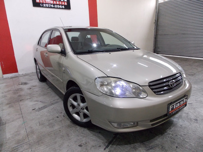 Toyota Corolla Xei 1.8 2004 Automatico + Couro (novo)