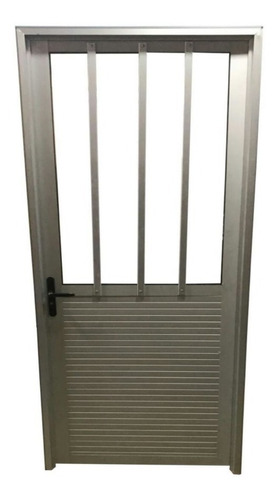 Imagen 1 de 4 de Puerta Aluminio Serie 30