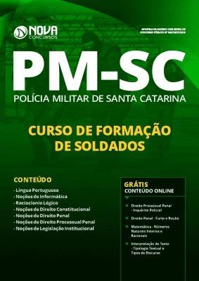 Apostila Pm Sc 2019 Polícia Militar Santa Catarina Ed Nova