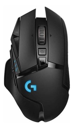 Imagen 1 de 1 de Mouse de juego inalámbrico recargable Logitech  G Series Lightspeed G502 negro