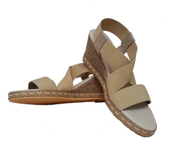 Sandalias De Mujer Elastizada Con Taco Chino A350