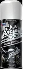 Graxa Branca Spray Racing Central Sul, Bom Para Motos 150 Ml
